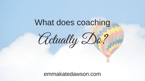Confidence building coaching